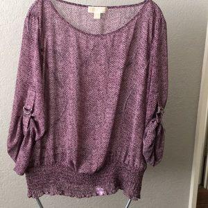 Michael Kors blouse size XL